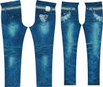 牛仔裤印花1